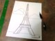 Eiffel Tower Template For Cakes