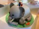 Elephant Birthday Cake Template