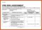 Equipment Risk Assessment Template