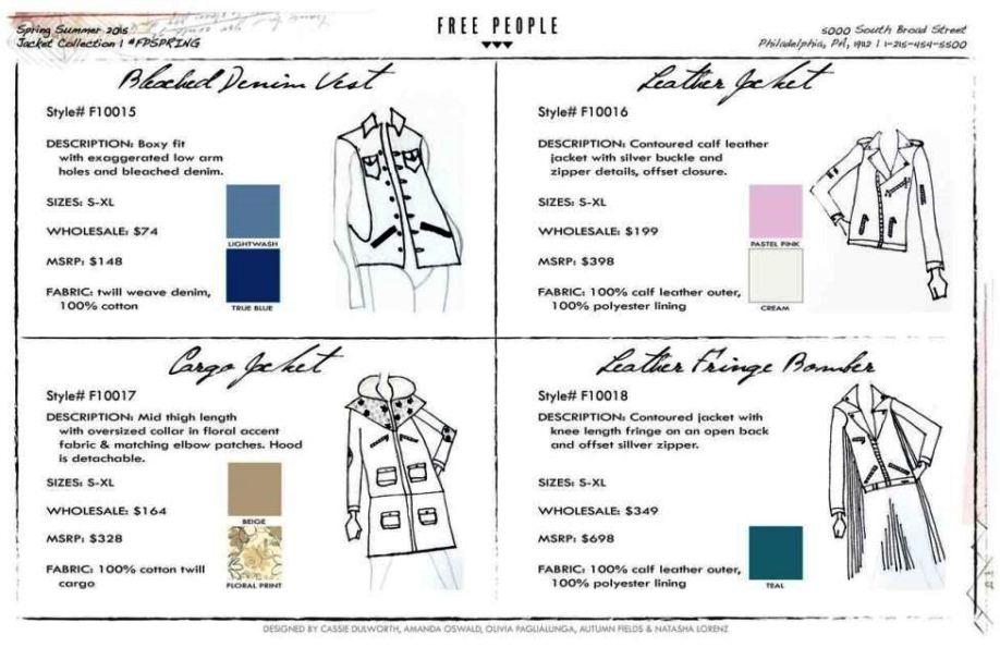fashion line sheet template - sampletemplatess