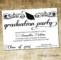 Graduation Ceremony Invitation Templates