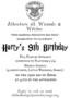 Harry Potter Invitation Template