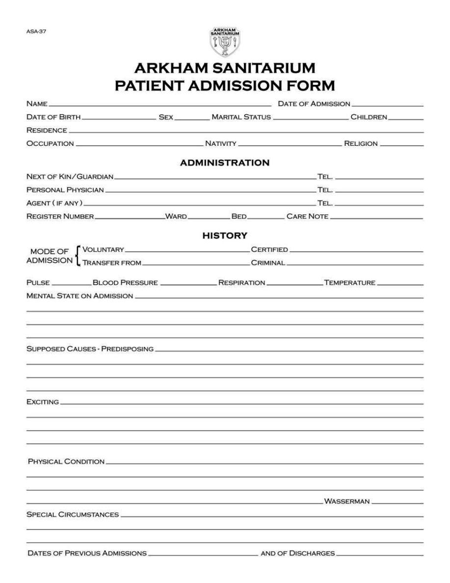 hospital admission orders template - sampletemplatess