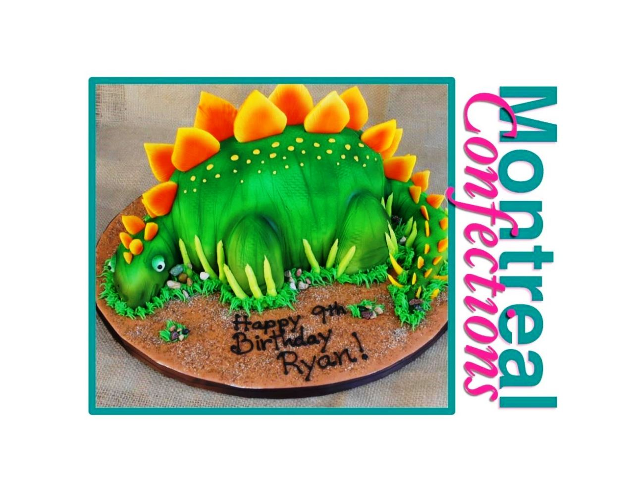 How To Make A Dinosaur Cake Template Sampletemplatess