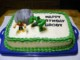 Hulk Cake Template