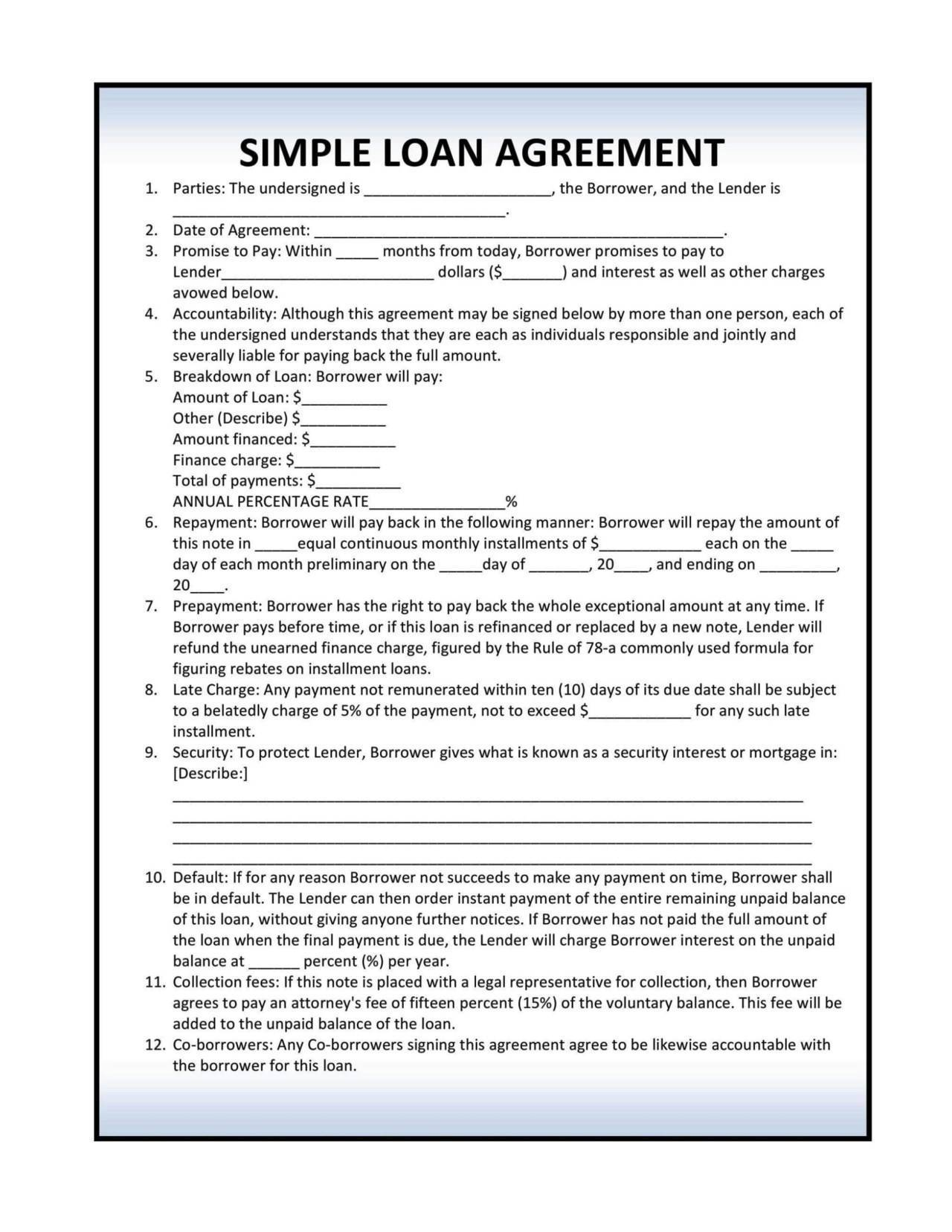 Installment-Loan-Agreement-Template Sample Invoice Letter Template on graphic design, professional service,