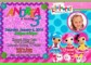 Lalaloopsy Invitation Template