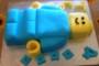 Lego Man Cake Template