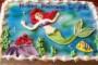 Little Mermaid Cake Template