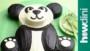 Panda Cake Template