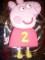 Peppa Pig George Cake Template