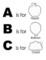 Printable Alphabet Book Template