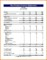 Pro Forma Financial Template