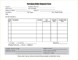 Purchase Order Request Form Template