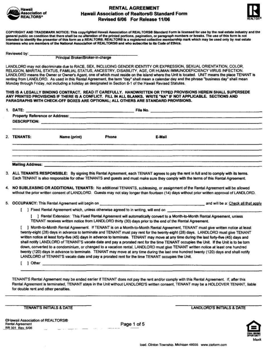 shop lease agreement template