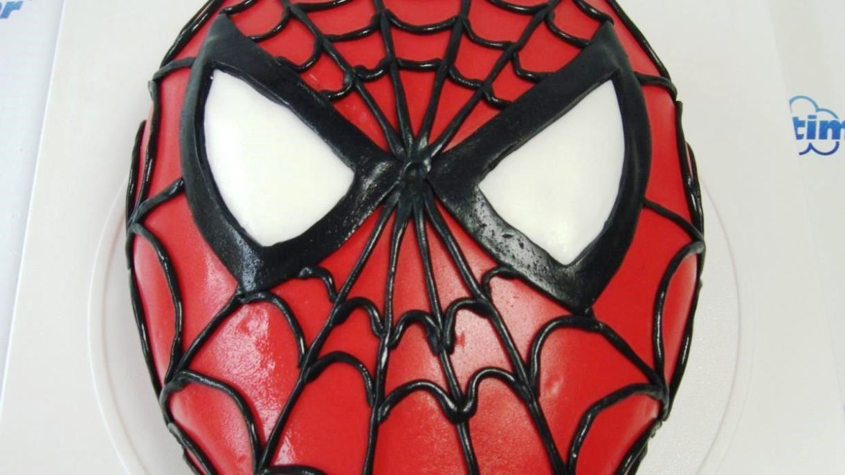 spiderman cake template - sampletemplatess