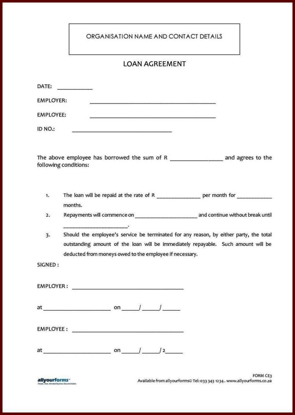 Standard-Loan-Agreement-Template-Free Sample Application Form Docx on for matron job, high school, u.s. visa, bridge 2rwanda, auto loan, german schengen visa, uk visa, personal loan, us passport renewal,