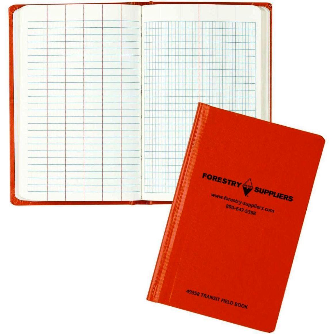 survey field book template