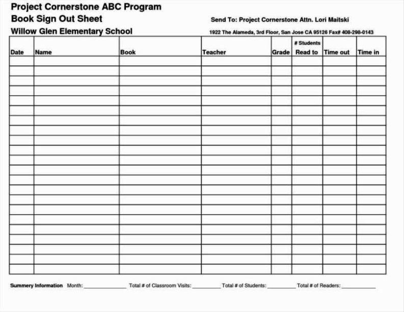 teacher record book template