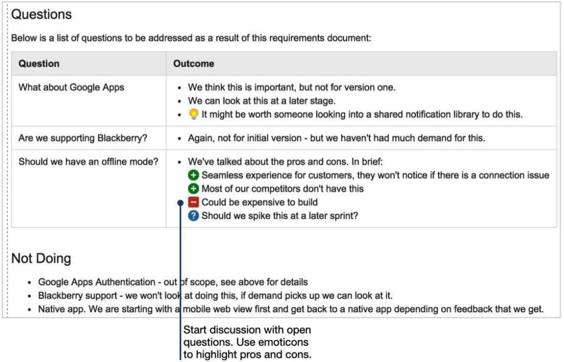 web application requirements document template