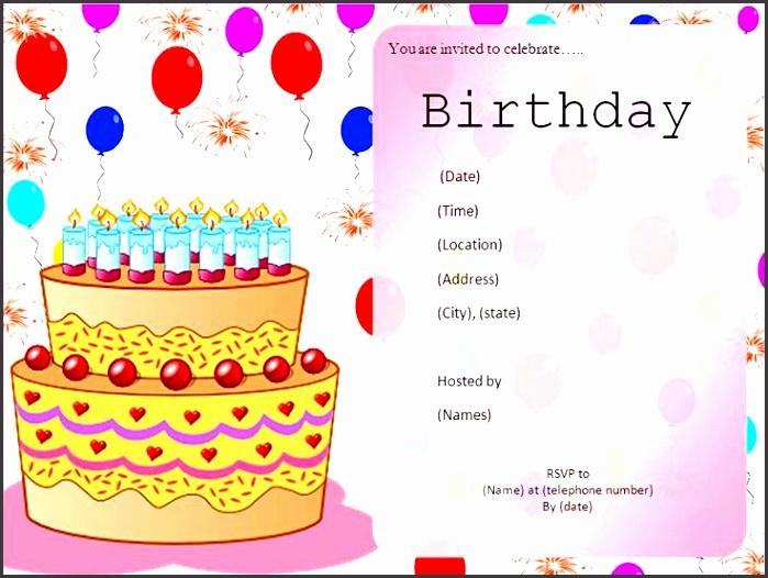 birthday invitation card templates free best 25 free birthday invitations ideas on pinterest summer ideas