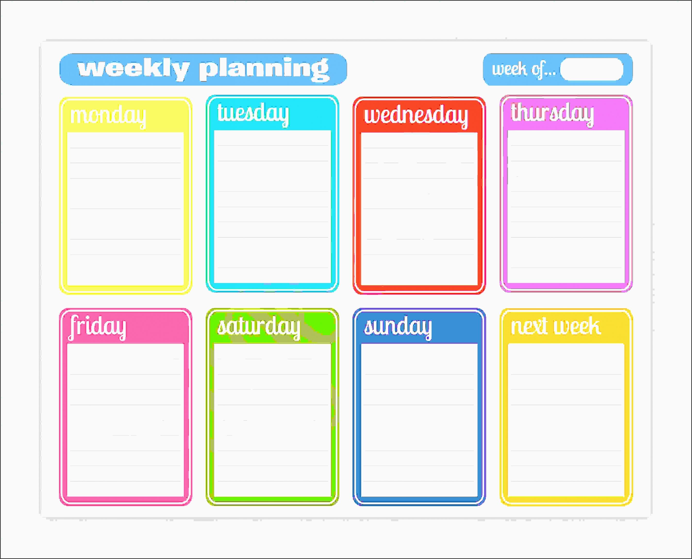 printable weekly planner weekly planner 01 01