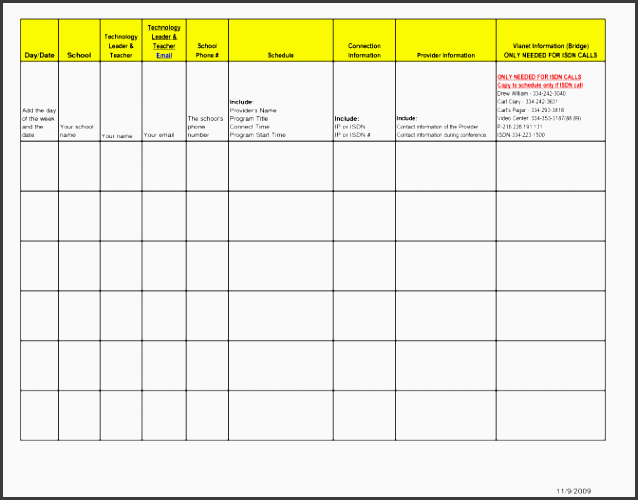 5 day schedule template itinerary sample word 155 day schedule template template medium