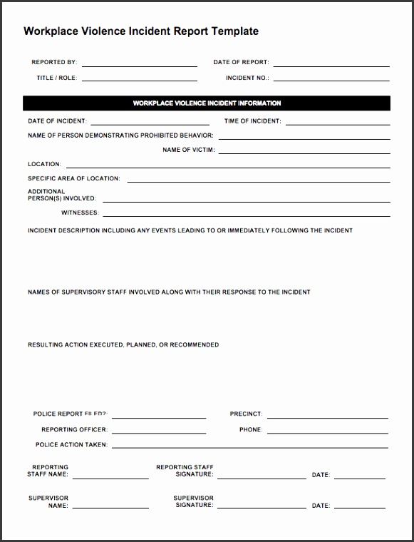 ic workplace violence incident report