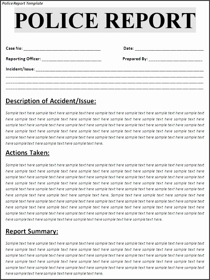 100 accident report book template pupil accident report