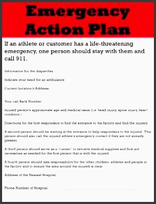 guide on emergency action plan template excel templates