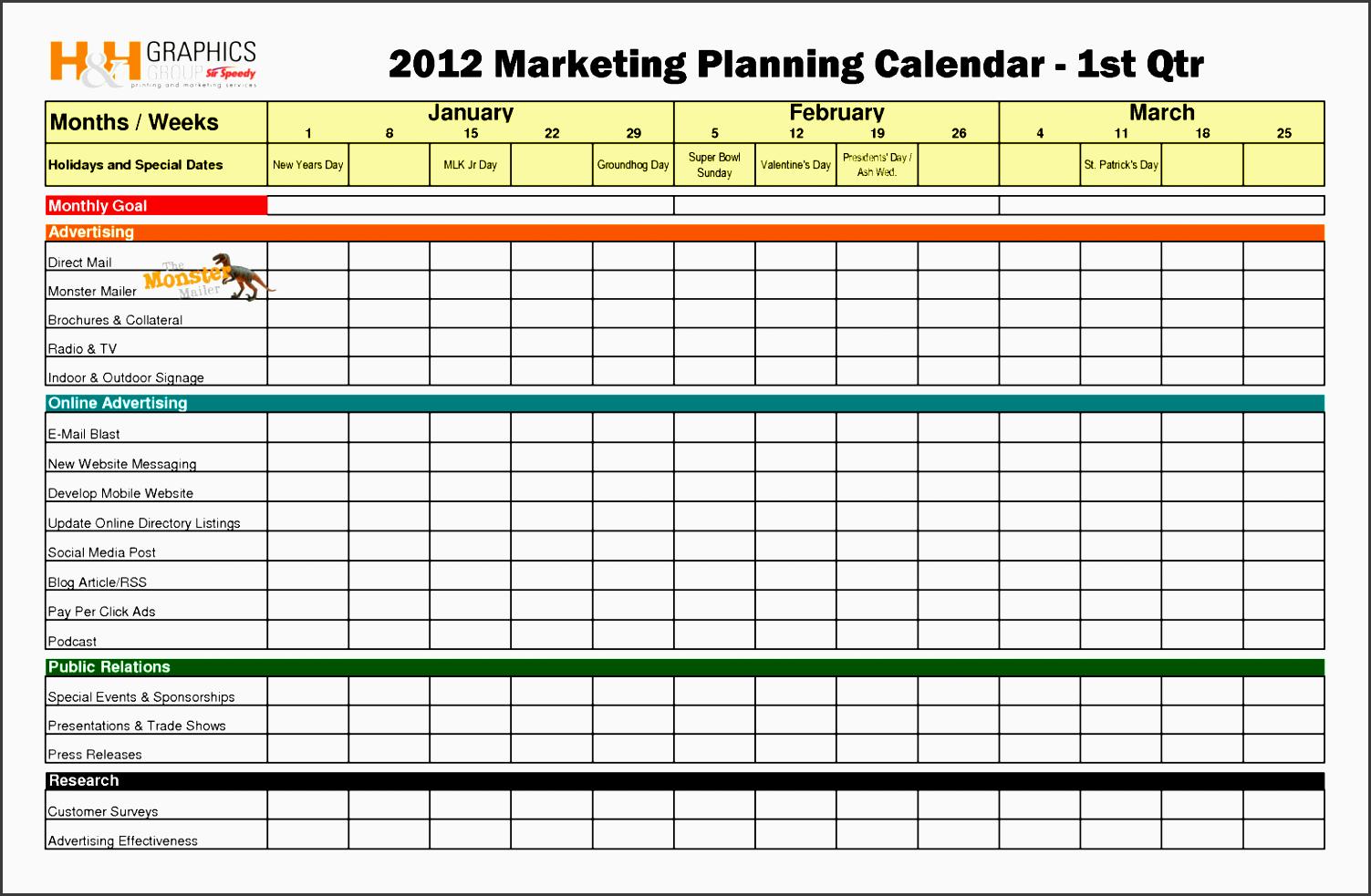 10 Advertising Plan Template - SampleTemplatess ...