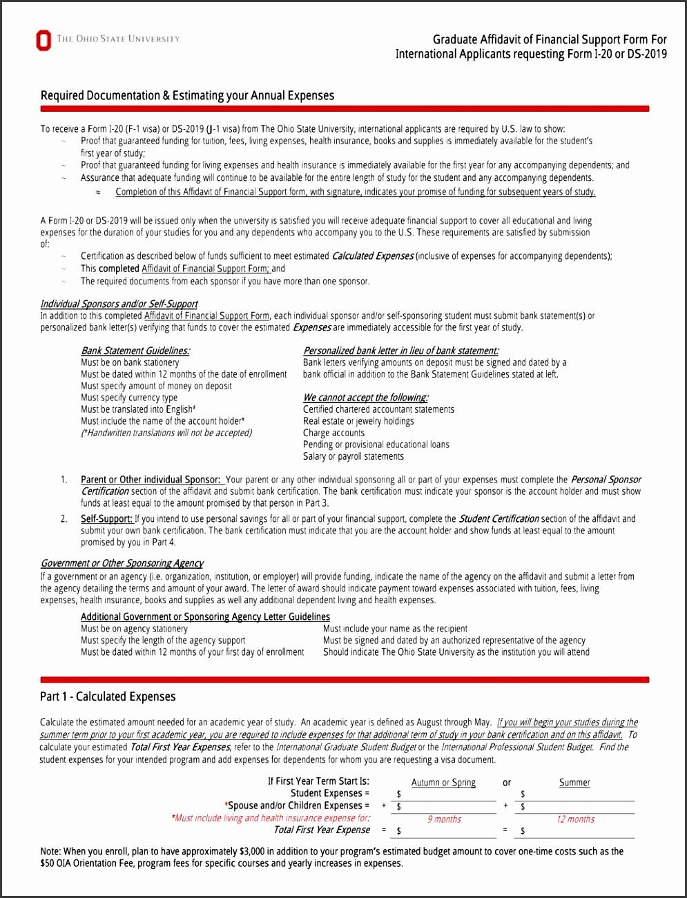 19 free affidavit forms form ds 2019 i 20 of financial supp vawebs 19 free affidavit forms form ds 2019 i 20 of financial supp pdf sample fee