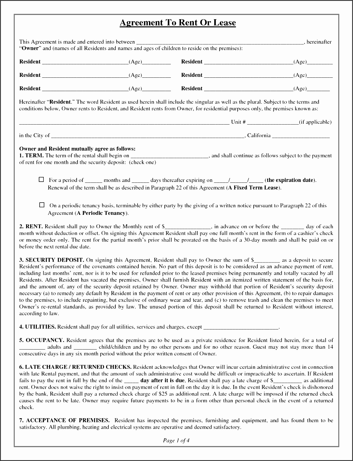 house lease agreement form free property rentals direct rental agreement template