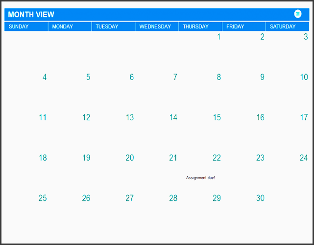 student assignment planner