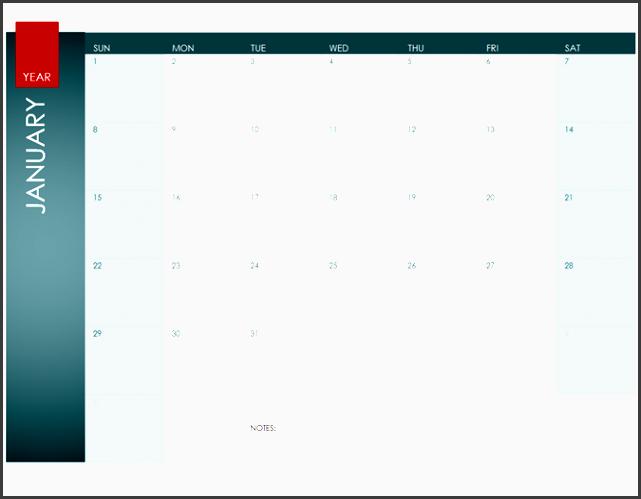 any year calendar ion theme