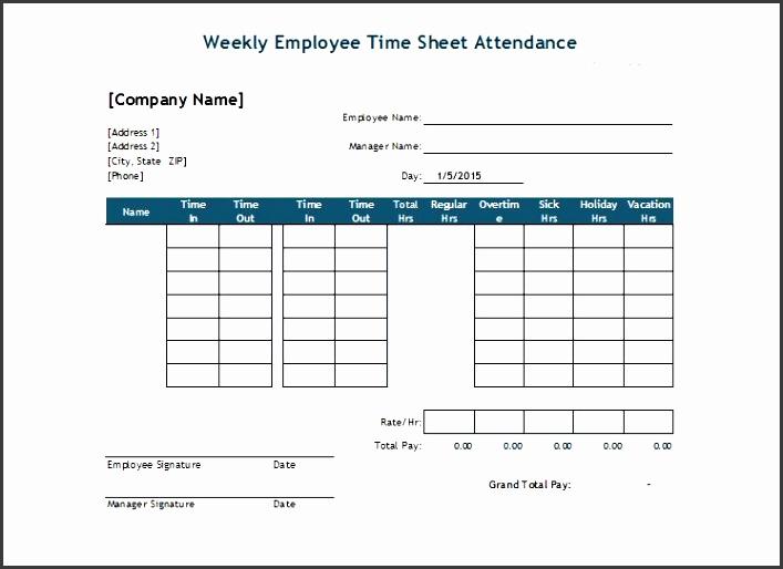 printable attendance sheet 38