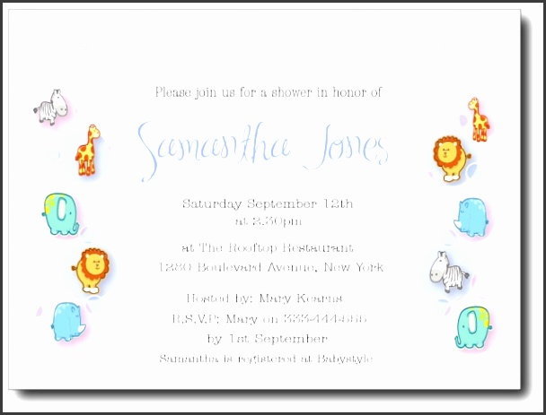baby shower party invitation wording as surprising baby shower invitation template designs for you