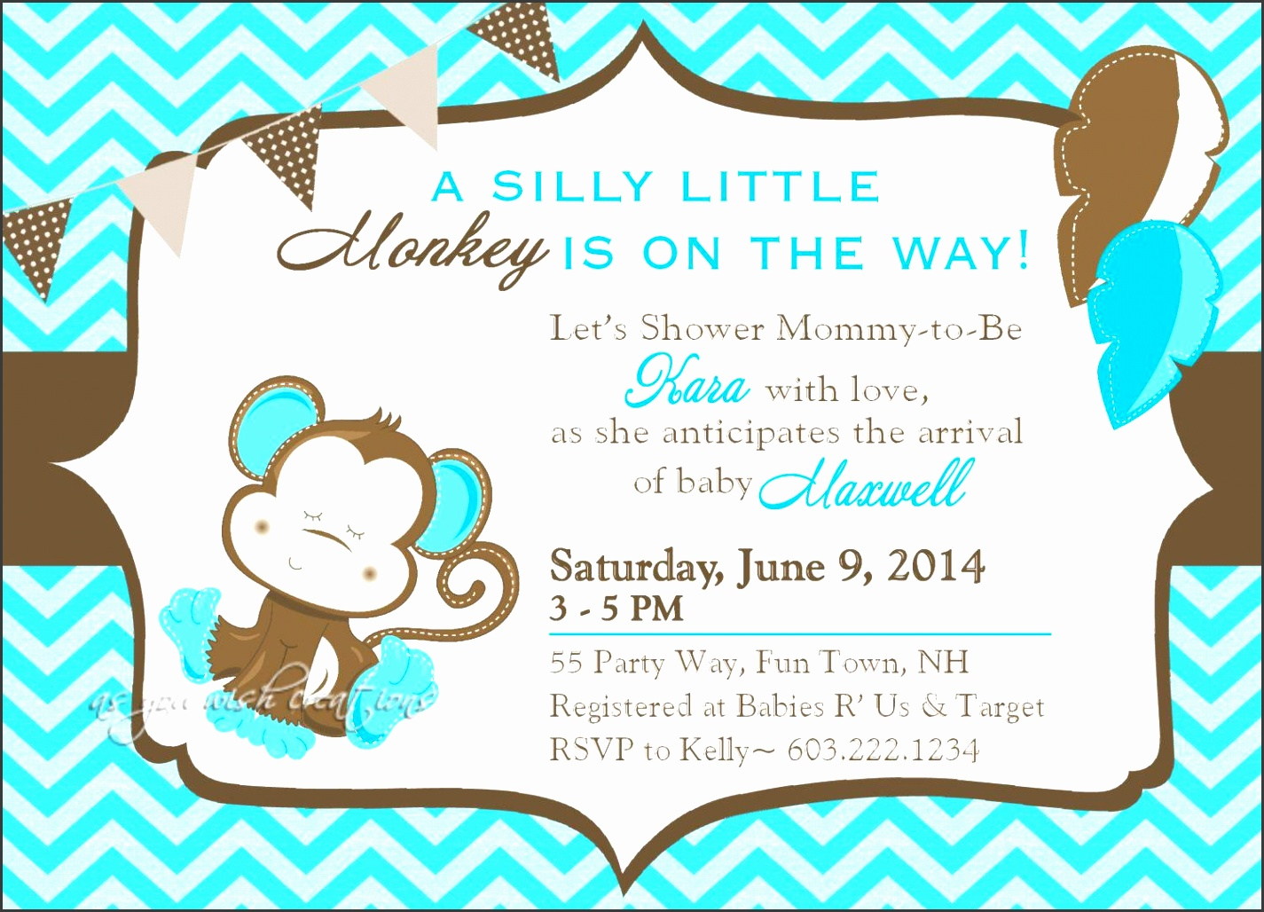 baby shower invitation templates for publisher