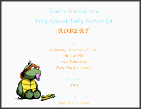 baby shower invitation template 4 boy small