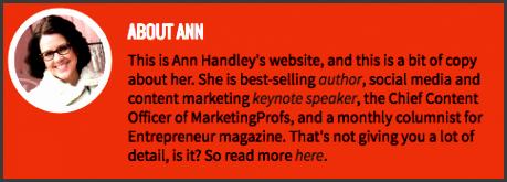 ann handley website bio