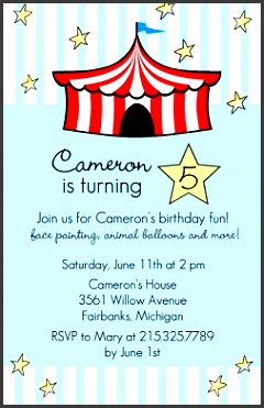 kids birthday party invitations which can be used to make your own birthday invitation design 11