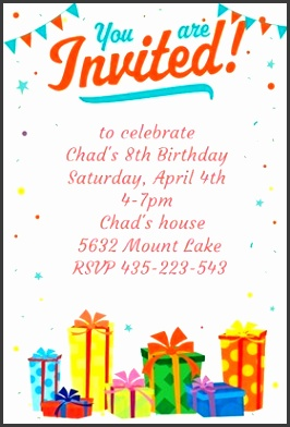 baby birthday invitation template birthday party invitation 4