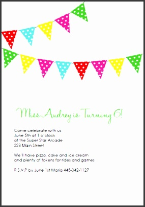 printable birthday invitations banner1