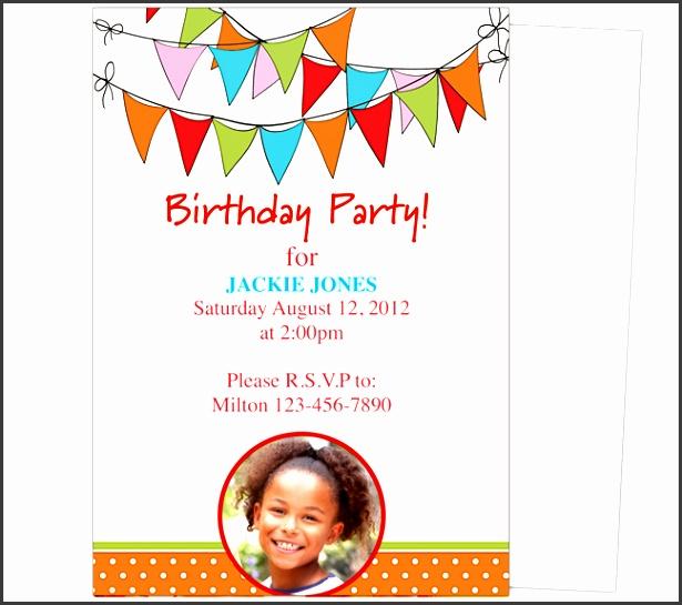 birthday invitation word template birthday party invitation template word marialonghi