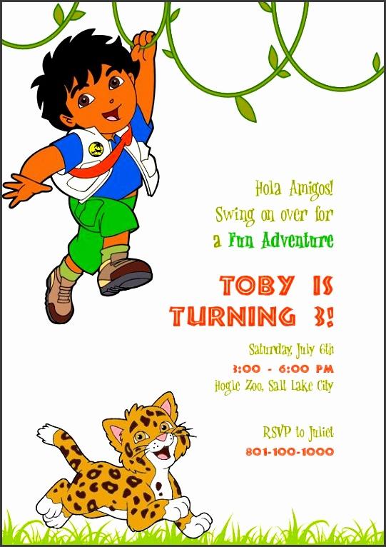 go go go premium birthday invitation birthday invitation templatesinvitation kitsbirthday party