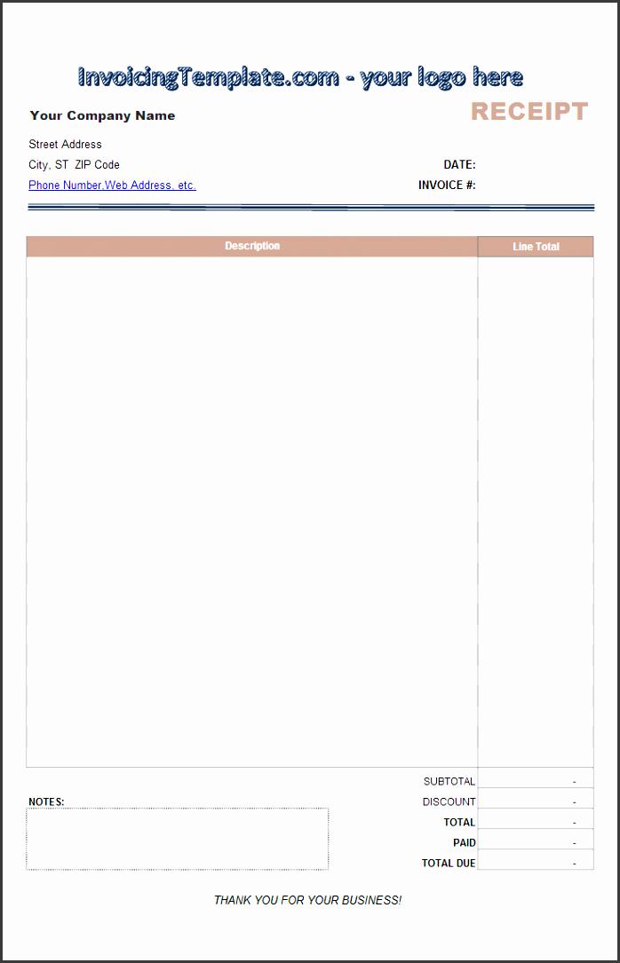 blank receipt template payment receipt template blank cash receipt