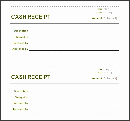 receipt templates blank cash receipt