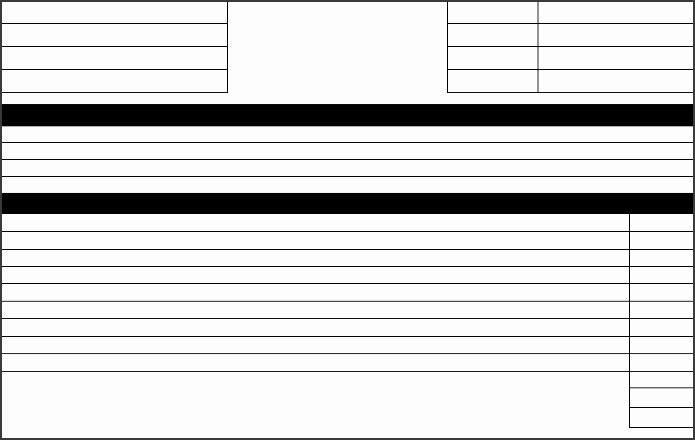 free printable job estimate form template in pdf