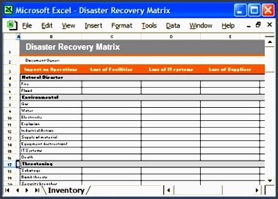 business continuity checklist template business continuity plan flickr printable