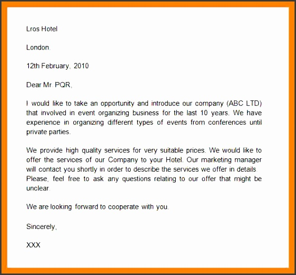 formal introduction emailmple business introduction letter